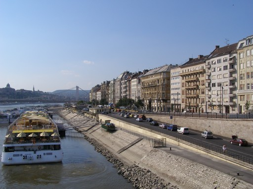 Budapest, Belváros, Dunapart, Kép: wikimedia