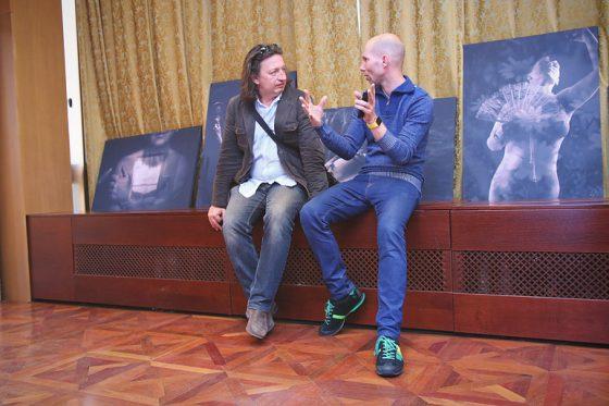 Dr Csernus Imre és Bánhalmi Norbert fotós Kép: norbertbanhalmi.com
