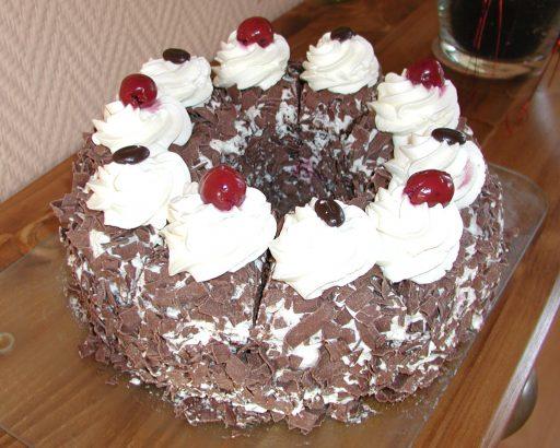 Feketeerdő torta, Kép: pixabay.com
