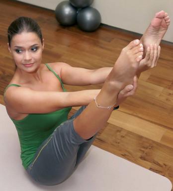 Geszler Dorottya és a Pilates, Kép: sajtóanyag