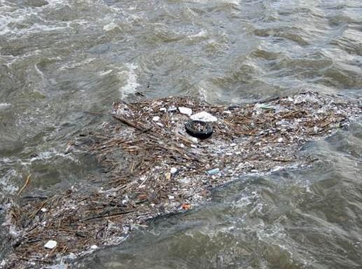 Műanyagszennyeződés a vízben, Kép: sajtóanyag