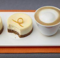 desszert, húsvét, kávé, Nespresso, sajttorta, tavasz