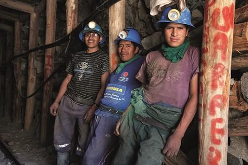 Perui aranybányászok Kép: Velekey Észekrvilág
