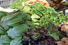 borsó, hagyma, piac, primőr, retek, tavasz, uborka