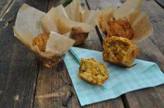 édesburgonya, egészséges, hagyma, húsvét, juhtúró, maradék, muffin