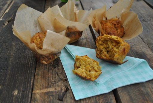 Sült hagymás édesburgonya muffin, Kép: receptguru.cafeblog.hu