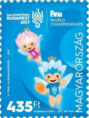 Vizes vb bélyeg, Kép Magyar Posta