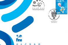 bélyeg, Nemzetközi Úszószövetség, sport, Tatai Tibor grafikus, vizes vb