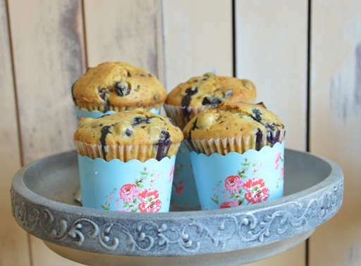 Áfonyás muffin, Kép: Kandikó Éva