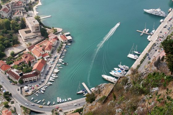 kotor-kikötő