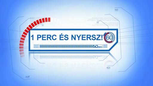 1 perc és nyersz logó, Kép RTL