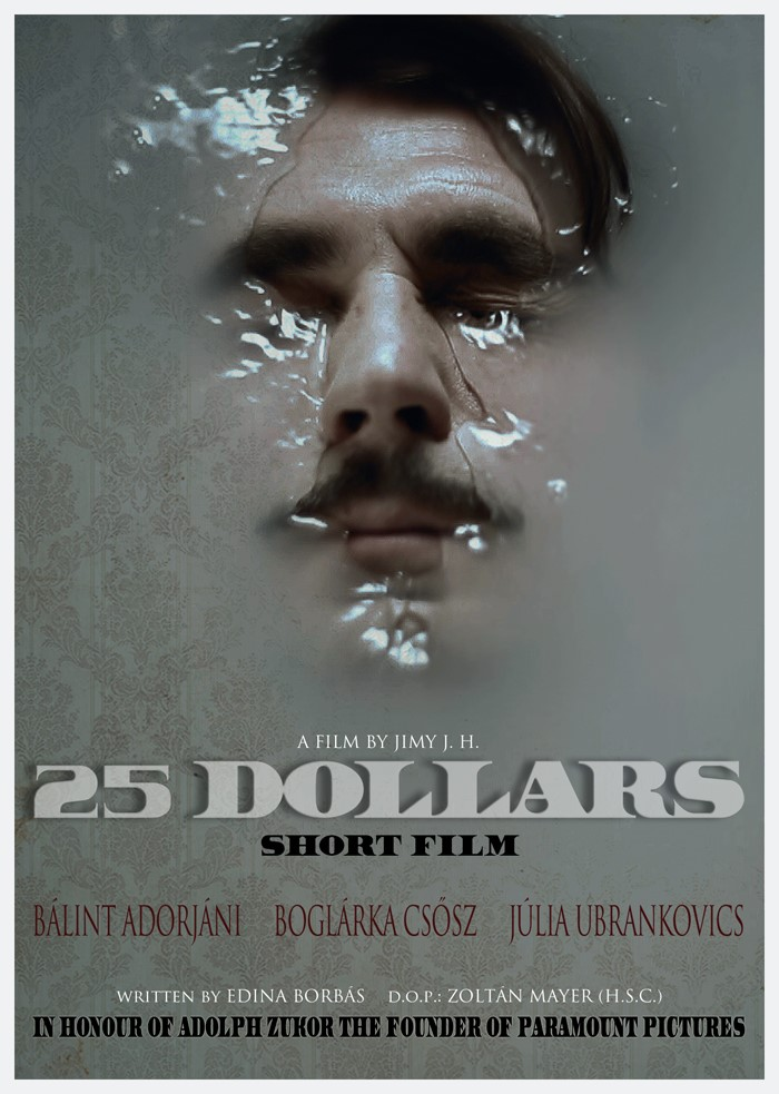 25 dollár, filmplakát, Kép: sajtóanyag