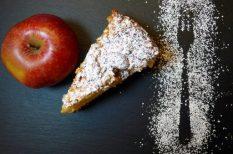 alma, cukormentes, egészséges, gluténmentes, lisztmentes, zabpehely
