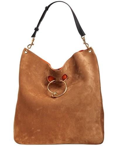 Bag pircing sportos táskán, J.W. Anderson kollekció, Kép: luisaviaroma sajtóanyag