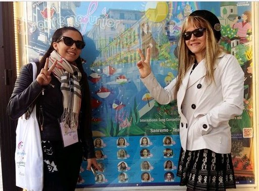 Claudia és Marcellina San Remoban, Kép: Marcellina sajtó