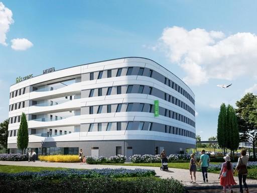 Ilyen lesz az Ibis Styles Budapest Airport Hotel, Kép: sajtóanyag