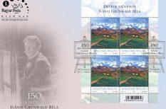 bélyeg, fetészet, Iványi Grünwald Béla, kultúra, művészet