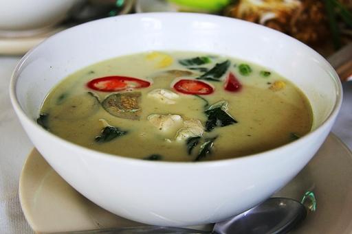 Kókusztejes csirke curry,Kép: pixabay.com