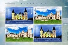 bélyeg, Európa, Európai Postaüzemeltetők Egyesülete, kastély, PostEurop, szavazás, szépségverseny, történelem