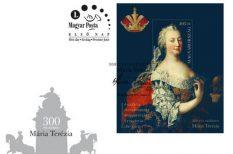 300. születésnap, bélyegblokk, képzőművész, Magyar Posta, Mária Terézia, Svetlana Milijaševič