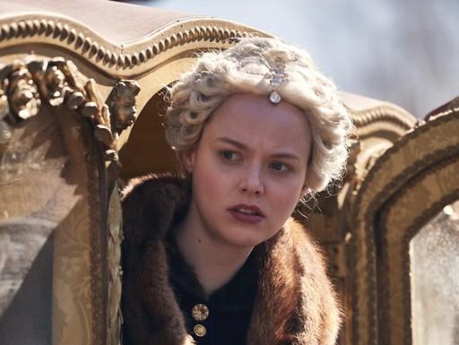 Mária Terézia szerepében Marie-Luise Stockinger, Kép: MTVA