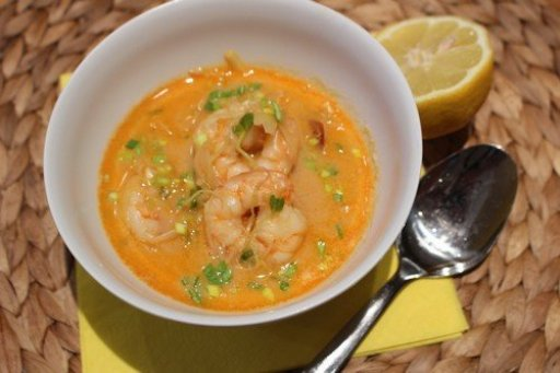 Pikáns thai leves garnélával, Kép: husimado-eger.blog.hu