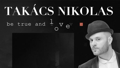 Takacs Nikolas, lemezbemuato plakát, Kép: sajtóanyag