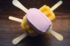 fagyi, fagylalt, gyümölcs, jégkrém