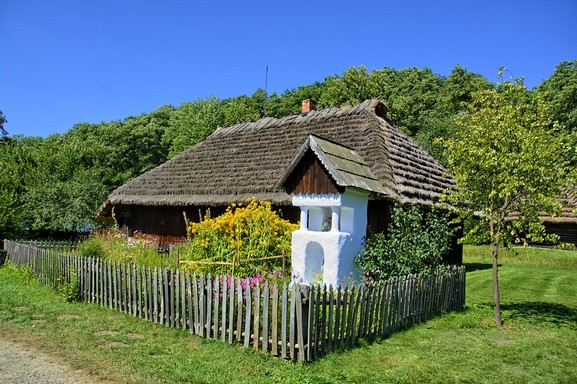 Vidéki ház Magyarországon, Kép: pixabay