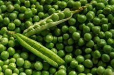 borsó, piac, tavasz, zöldborsó