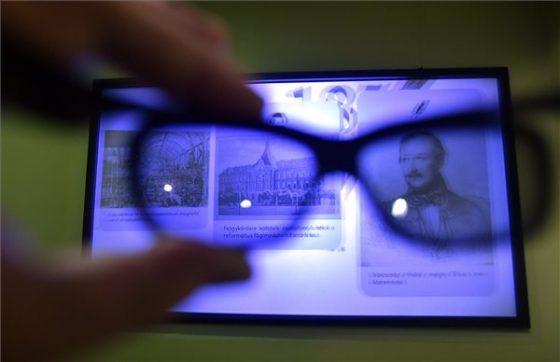 3D-s szemüveggel nézhető installáció Fotó: Máthé Zoltán