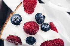 gyereknap, gyümölcs, sütés nélkül, torta