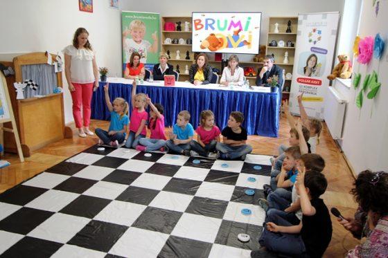 a budapesti XVI. kerületi Brumi Óvoda is aktív részese a programnak