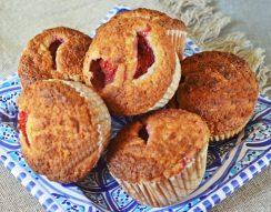 joghurt, muffin, teljes kiőrlésű liszt, zabpehely liszt