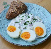 majonéz, sajt, saláta, tartás mártás, tojás, virsli