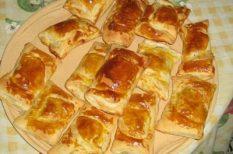 camembert, készen kapható, leveles tészta, vendégváró