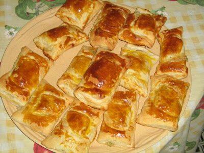 Fűszeres camembert-rel töltött táska, Kép: maxkonyhaja.hu