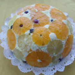 citrom, keksz, narancs, sütés nélkül, tejszín, torta