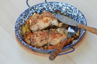Halfilé zöldségágyon, Kép: maxkonyhaja.hu