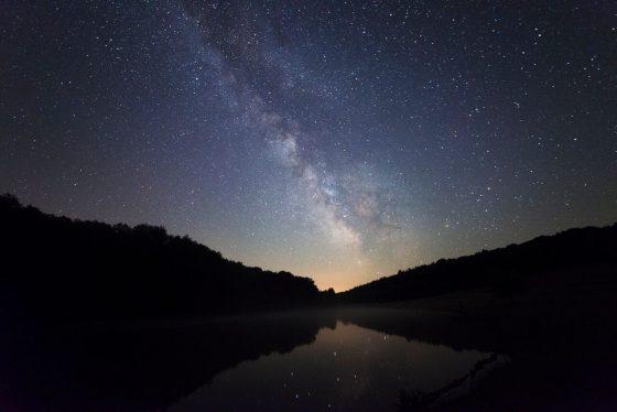 Ropolyi tó a Tejúttal kép: http://zselicicsillagpark.hu