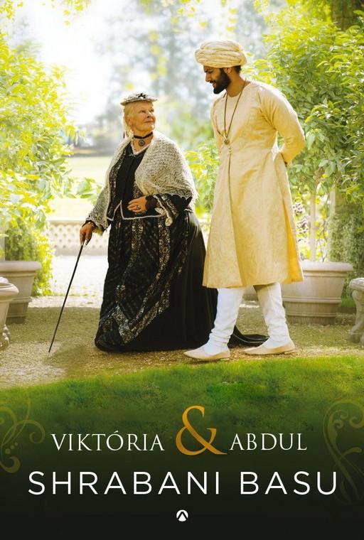 Viktória és Abdul, könyvborító, Kép: sajtóanyag