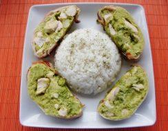bacon, borsó, brokkoli, csirke, őzgerinc forma, zöldborsó