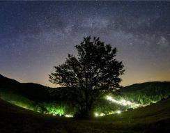 Bükk, csillagok, égbolt, éjszaka, fény, kulturális örökség, nemzeti park, Zselic