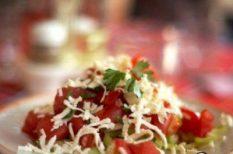 feta sajt, saláta, zöldség