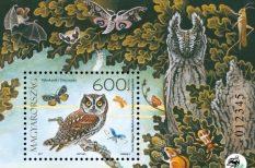 bagoly, bélyeg, őshonos állatok, védett madár