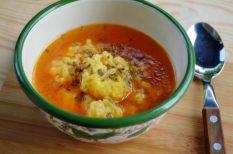 egyszerű, galuska, maradék, rántott leves