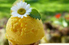 citrom, fagyi, fagylalt, hűsítő, nyár