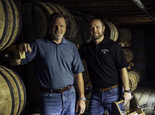 Jeff Arnett és Chris Fletcher, Kép: Jack Daniel's