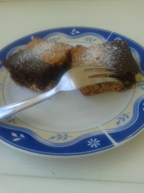 Könnyű kavart kakaós süti, Kép: Fajcsák Sándorné