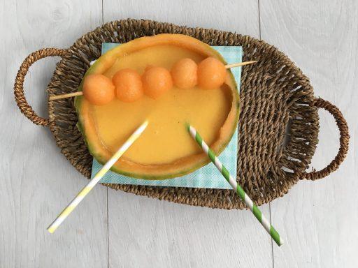 Sárgadinnye-krémleves, Kép: receptguru.cafeblog.hu